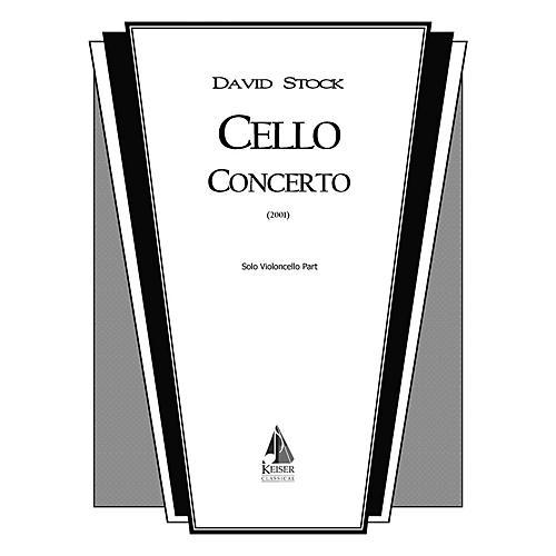 Lauren Keiser Music Publishing Cello Concerto (Cello Solo) LKM Music Series Composed by David Stock