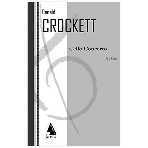 Lauren Keiser Music Publishing Cello Concerto LKM Music Series Composed by Donald Crockett
