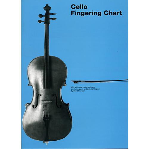 Hal Leonard Cello Fingering Chart