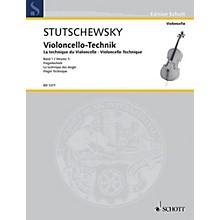 Schott Cello Method - Volume 1 Finger Technique Schott Series
