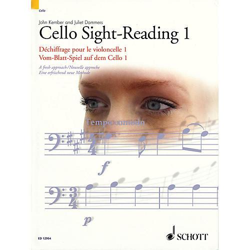 Schott Cello Sight-Reading 1 Misc Series Written by John Kember