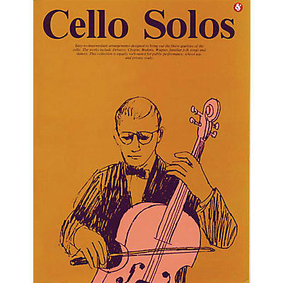 Music Sales Cello Solos (Everybody's Favorite Series, Volume 40) Music Sales America Series Softcover