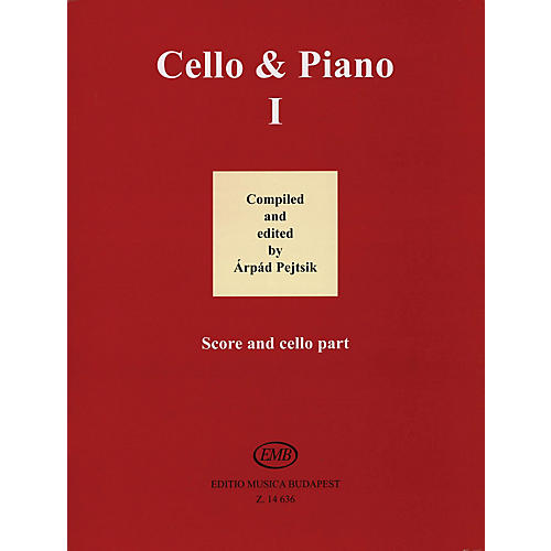 Editio Musica Budapest Cello and Piano (Volume 1) EMB Series