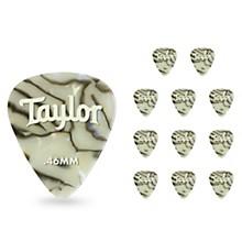 Taylor Celluloid 351 Picks, Abalone