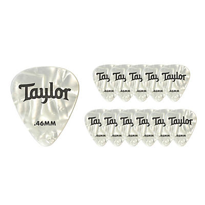 Taylor Celluloid Picks 12-Pack