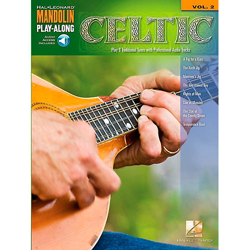 Hal Leonard Celtic - Mandolin Play-Along Volume 2 Book/CD