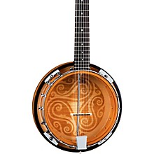 Open BoxLuna Guitars Celtic 6-String Banjo