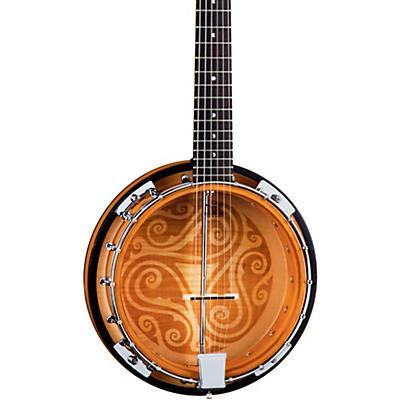Luna Guitars Celtic 6-String Banjo