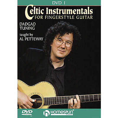 Homespun Celtic Instrumentals for Fingerstyle Guitar 1 (DVD)