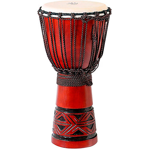 X8 Drums Celtic Labyrinth Djembe Drum 12 x 24 in.