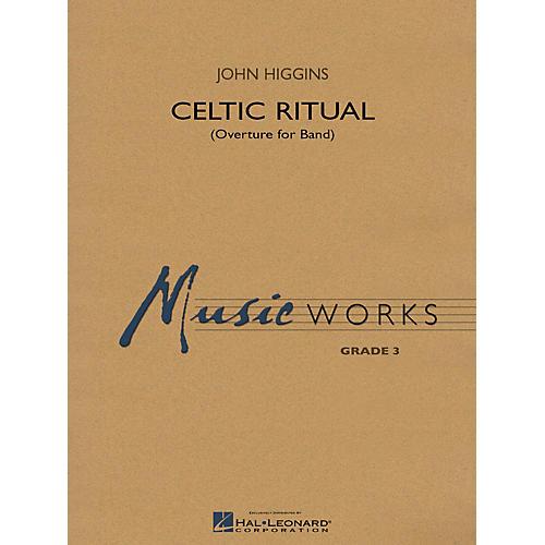 Hal Leonard Celtic Ritual (MusicWorks Grade 3) Concert Band Level 3 Composed by John Higgins