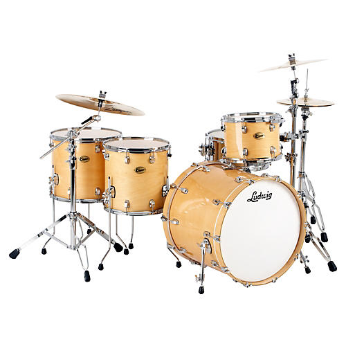ludwig centennial dragster 4 piece shell pack musician 39 s friend. Black Bedroom Furniture Sets. Home Design Ideas