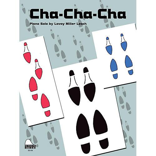 SCHAUM Cha-Cha-Cha Educational Piano Series Softcover