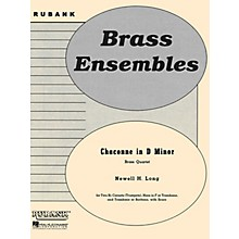 Rubank Publications Chaconne in D Minor (Brass Quartet - Grade 4) Rubank Solo/Ensemble Sheet Series