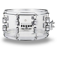 Chad Smith Signature Acrylic Snare Drum 13 x 7 in. Clear