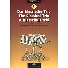 Editio Musica Budapest Chamber Music Method for Strings - Volume 3 (The Classical Trio) EMB Series by Various