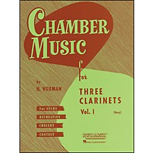 Hal Leonard Chamber Music Series Three Clarinets Vol. 1