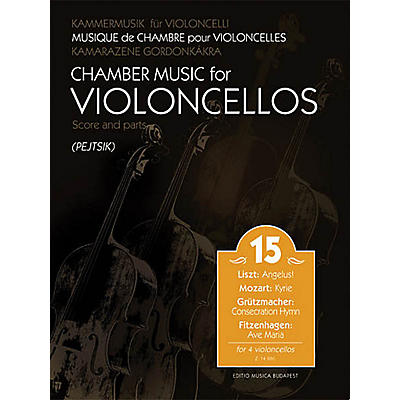 Editio Musica Budapest Chamber Music for Cellos Vol. 15 EMB Series Softcover Composed by Various