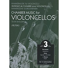 Editio Musica Budapest Chamber Music for Four Violoncellos - Volume 3 (Score and Parts) EMB Series Composed by Edvard Grieg