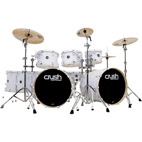 Crush Drums & Percussion Chameleon Birch 8-Piece Shell Pack with 24