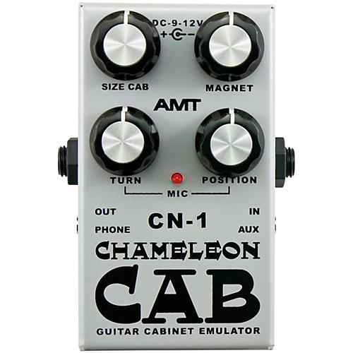 AMT Electronics Chameleon Cab Speaker Cabinet Simulator Pedal