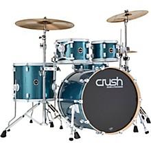 Chameleon Complete 5-Piece Drum Set Light Blue Sparkle