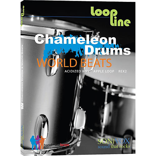Sonivox Chameleon Drums 2 - World Beats Loop Collection
