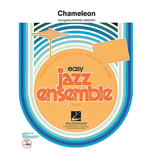 Hal Leonard Chameleon Jazz Band Level 2 by Herbie Hancock Arranged by Michael Sweeney