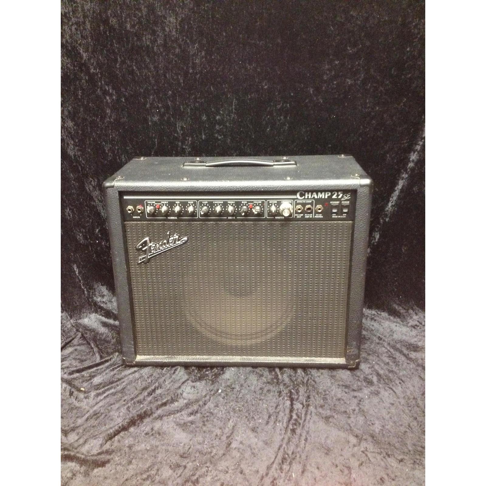 Fender Champ 25se Tube Guitar Combo Amp