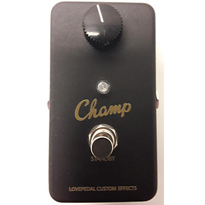 Lovepedal Champ Pedal Effect Pedal