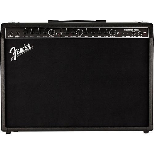 Fender Champion 100XL 100W 2x12 Guitar Combo Amp Black