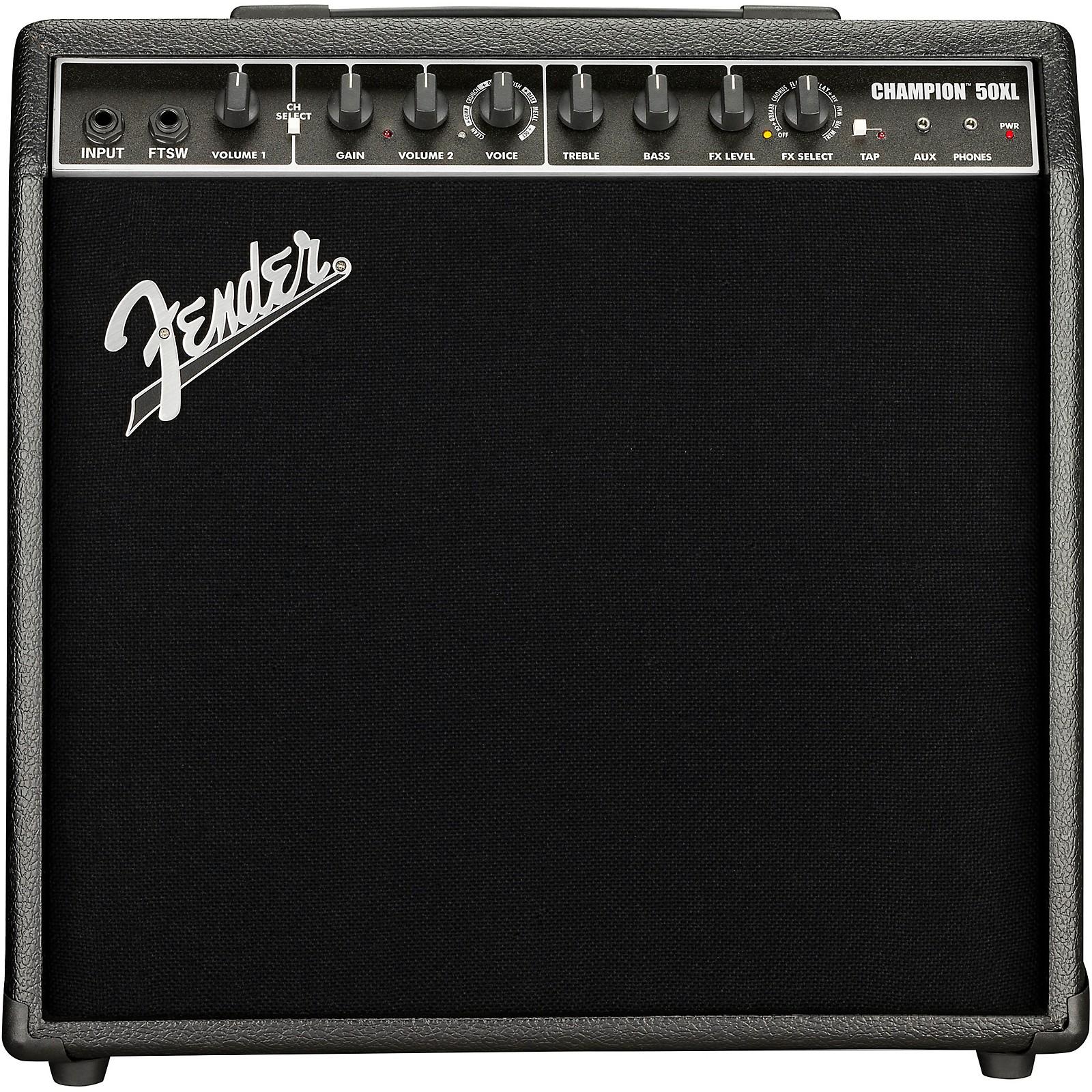 Fender Champion 50XL 50W 1x12 Guitar Combo Amp