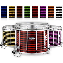 Championship CarbonCore Varsity FFX Marching Snare Drum Spiral Finish 13 x 11 in. Orange #996