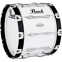 Championship Maple Marching Bass Drum 20x14 Inch Pure White