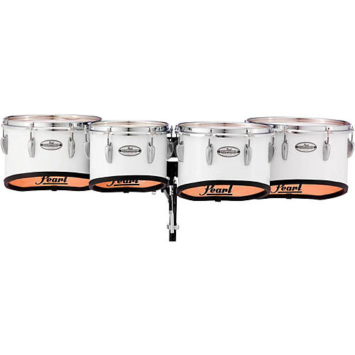 Pearl Championship Maple Marching Tenor Drums Quad Shallow Cut