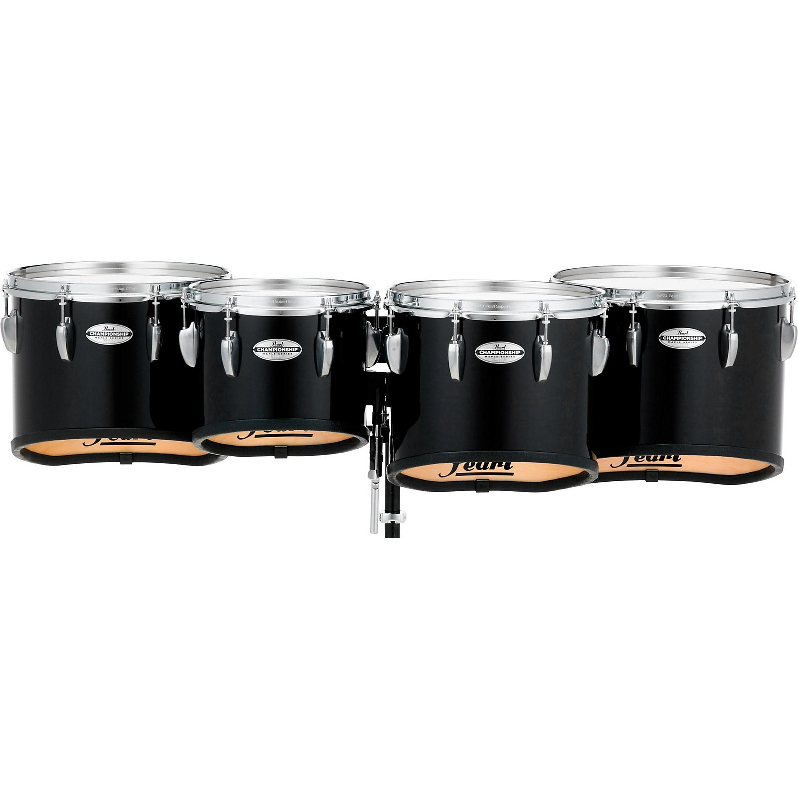 Pearl Championship Maple Marching Tenor Drums Quad Sonic Cut