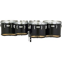 Championship Maple Marching Tenor Drums Sextet Sonic Cut 6, 8, 10, 12, 13, 14 in. Midnight Black #46