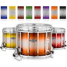 Championship Maple Varsity FFX Marching Snare Drum Burst Finish 14 x 12 in. Orange Silver #978