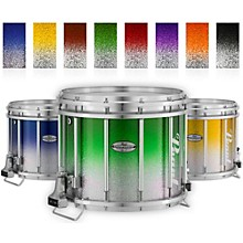 Championship Maple Varsity FFX Marching Snare Drum Fade Top Finish 14 x 12 in. Green Silver #971