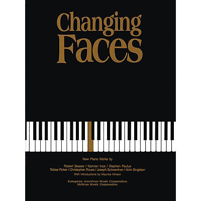 Schott Changing Faces (New Piano Works) Schott Series
