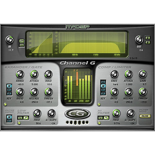 McDSP Channel G HD v6 Software Download