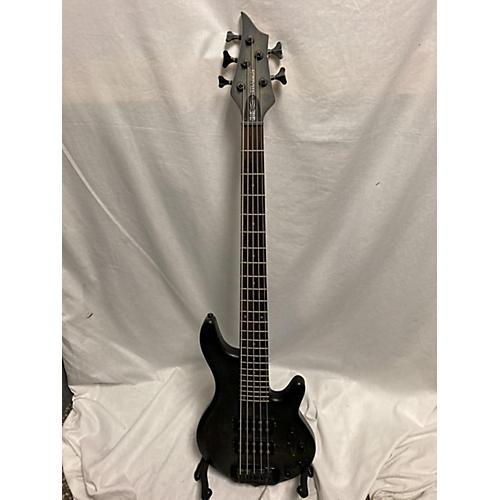 Traben Chaos Five Electric Bass Guitar Trans Black