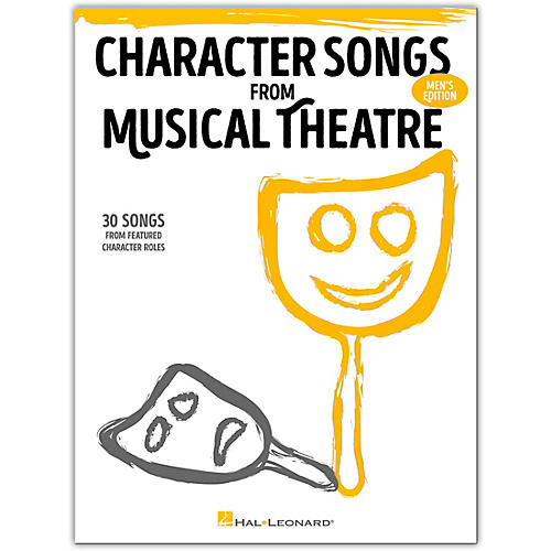 Hal Leonard Character Songs from Musical Theatre - Men's Edition