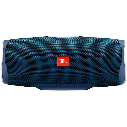 JBL Charge 4 Portable Bluetooth Speaker w/built in battery, IPX7, and USB charge out Blue