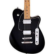 Charger HB Roasted Maple Fingerboard Electric Guitar Midnight Black