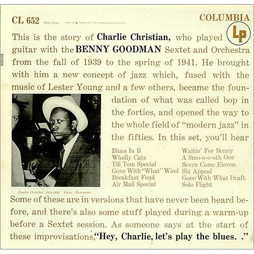 Alliance Charlie Christian - With the Benny Goodman Sextet
