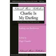 National Music Publishers Charlie Is My Darling SAB, VIOLIN, CELLO composed by Ludwig van Beethoven