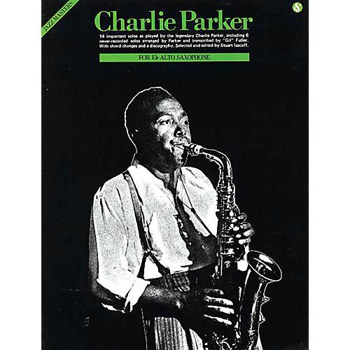 Music Sales Charlie Parker - Jazz Masters Series Music Sales America Series Performed by Charlie Parker