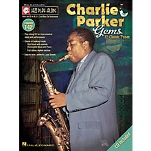 Hal Leonard Charlie Parker Gems Jazz Play Along Series Softcover with CD Performed by Charlie Parker