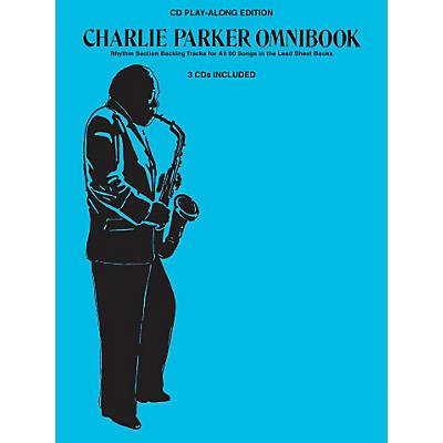 Hal Leonard Charlie Parker Omnibook - CD Play-Along Edition (3-CD Pack)